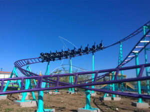How to use lubricants for large amusement equipment?