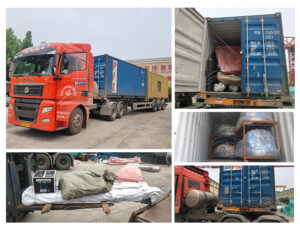 The shipment of amusement equipment for our Central African Republic client