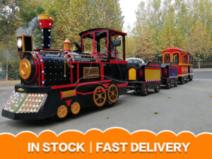 Super Popular Antique Trackless Train For Sale